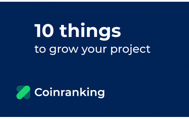 grow your crypto project