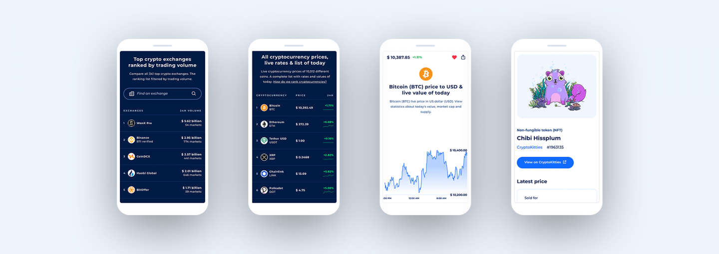 Coinranking Mobile App