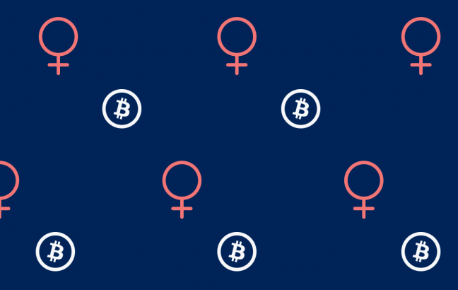 woman in crypto